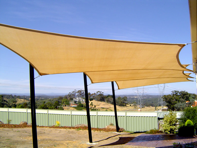 Shade sails melbourne victoria melbourne shade sails for Shade sail cost